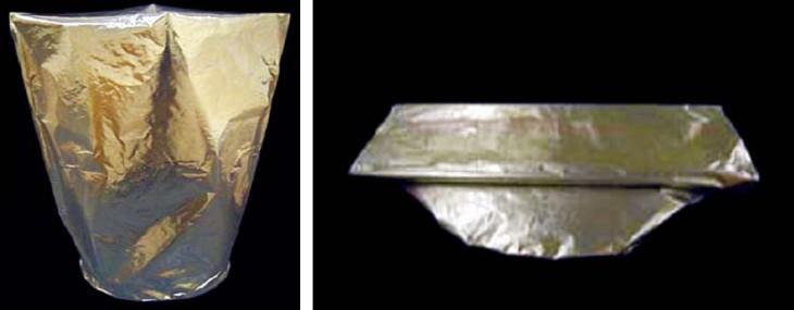 LSDL・AL 200Lドラム用オープンアルミ内装袋