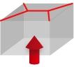 パレットカバーの形状・X線シール