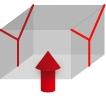 パレットカバーの形状・Y型シール