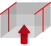 パレットカバーの形状・T型シール